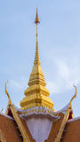 Roof of Buddhist Temple Royalty Free Stock Images