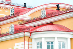 Roof of building Royalty Free Stock Images