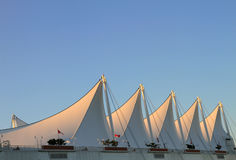 The Roof of Canada Place Stock Image