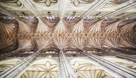 Roof of canterbury cathedral Stock Photography
