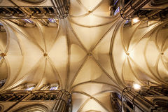 Roof of canterbury cathedral Royalty Free Stock Photography