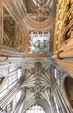 Roof of canterbury cathedral Stock Photo