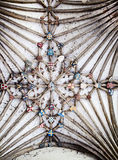 Roof of canterbury cathedral Stock Images