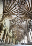 Roof of canterbury cathedral Royalty Free Stock Photo