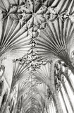 Roof of canterbury cathedral Stock Photos