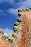 Roof at Casa Batllo Stock Image