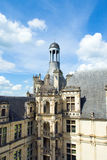 The roof of the castle Chambord Royalty Free Stock Photos