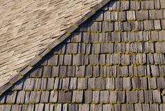 Roof from cedar Stock Photography