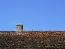 Roof and chimney Stock Photo