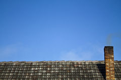 Roof chimney Stock Image