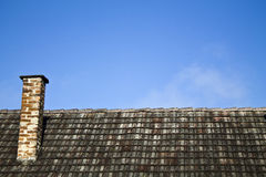 roof chimney Stock Images