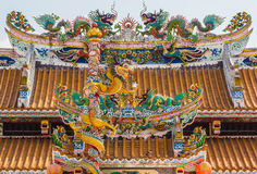 Roof of china temple Stock Photography