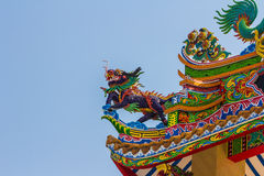 Roof of china temple Stock Images