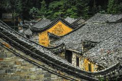 The roof of the Chinese ancient tradition house Royalty Free Stock Image