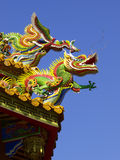 Roof of Chinese temple Royalty Free Stock Photos