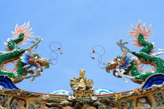 Roof Of Chinese Temple Stock Image