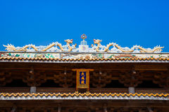 Roof of Chinese traditional structure Stock Photography