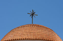 Roof of a church Royalty Free Stock Images