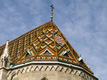 Roof of church Royalty Free Stock Photos