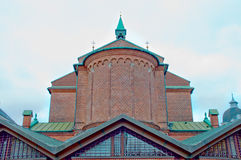 Roof of a church Royalty Free Stock Photography