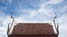 The roof of a church. Stock Images