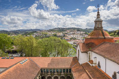 Roof of the Church of Saint Goncalo in Amarante Stock Photos