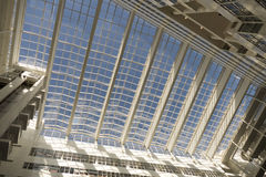 Roof of the City Hall in The Hague, designed by Richard Meier. Stock Image