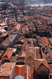 Roof cityscape of Porto, Portugal Royalty Free Stock Photography