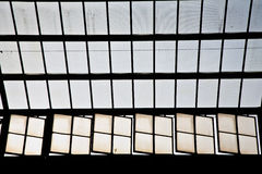 Roof of classicistic trainstation in Wiesbaden Royalty Free Stock Photography