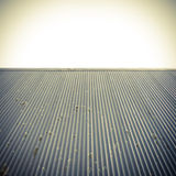 Roof and clear sky abstract background. Stock Photos