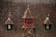 Roof clock Stock Photos