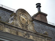 Roof clock Stock Images