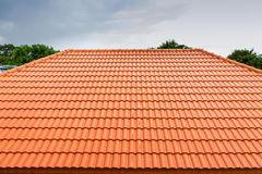 Roof concrete Stock Image