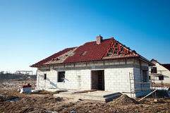 Roof construction Royalty Free Stock Photos