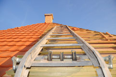 Roof construction Royalty Free Stock Photography