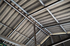 Roof construction Royalty Free Stock Images