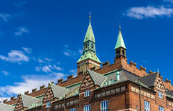 Roof of Copenhagen City Hall, Denmark Stock Image