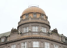 Roof with crown Stock Images