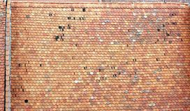 Roof Czech Tile Royalty Free Stock Photo