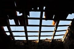 Roof Damage Stock Image