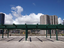 Roof deck of Parking Lot Royalty Free Stock Photo