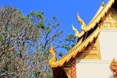 Roof Decoration At Wat Phra That Doi Suthep, Chiang Mai, Thailand Stock Photo