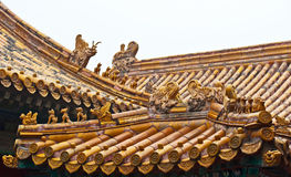 Roof decorations, China Royalty Free Stock Photos