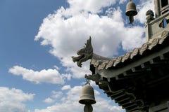 Roof decorationsXian (Sian, Xi'an), China Stock Images
