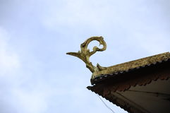 Roof design and detail at Masjid Kariah Dato' Undang Kamat, Johol, Negeri Sembilan Stock Image