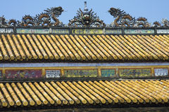 Roof detail Royalty Free Stock Image