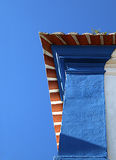 Roof detail. Detail of an old roof royalty free stock photography