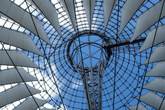 Roof detail around Potsdamer Platz Royalty Free Stock Photography