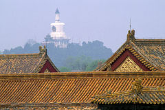 Roof Detail in Forbidden City 28871 royalty free stock photo