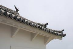 Roof Detail on Himeji Castle, Japan Stock Image
